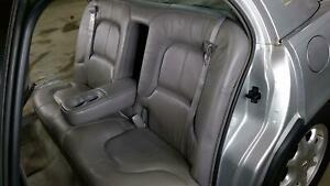 97 05 Buck Park Avenue Leather Rear Seat Top Bottom Grey Charcoal 173