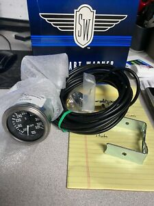 Stewart Warner 82327 216 Oil Temperature Gauge New In The Box With Accessories