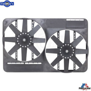 Flex A Lite 13 5 Dual Engine Electric Fan W Full Shroud