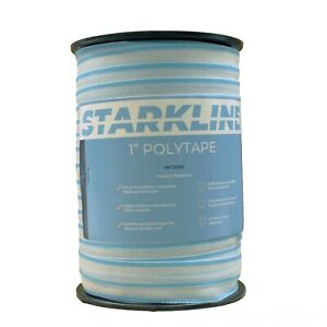 Starkline 1 Electric Polytape Equine Cattle Sheep Electric Fencing