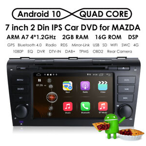 For Mazda 3 2004 2005 2006 2007 2008 2009 7 Car Dvd Stereo Gps Android 10 Obd2