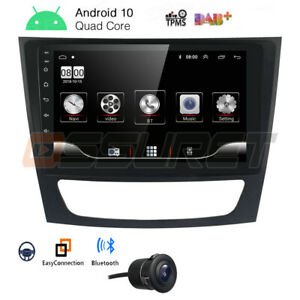 9 Android 10 0 Gps Car Radio Stereo Dab For Mercedes Benz E W211 W219 Cls 350