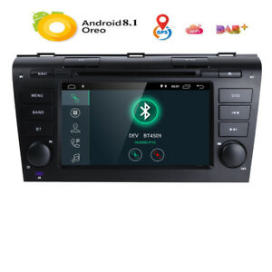 Android For Mazda 3 2004 2005 2006 2007 08 2009 Car Dvd Stereo Gps Radio Player