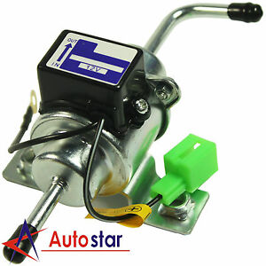 New Universal 12v Low Pressure Gas Diesel Electric Fuel Pump 1 4 Tubing 3 5 Psi