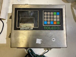 Toledo Scale 8142 Stainless Used