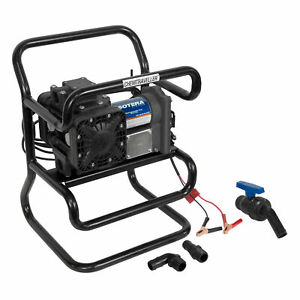Sotera Systems Ss435b Chemtraveller Chemical Transfer Pump 12 volt Motor 13gpm