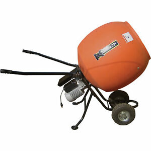 Kushlan Portable Electric Direct Drive Cement Mixer6 Cubic Ft kpro600dd