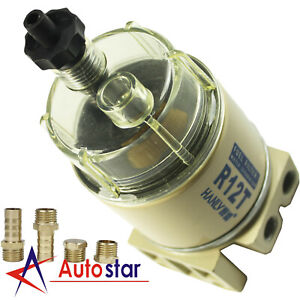 Brand New For R12t Boat Marine Spin on Fuel Filter Water Separator 120at