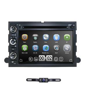 Car Dvd Navigation Radio Stereo For Ford F150 Edge Explorer Mustang Expedition
