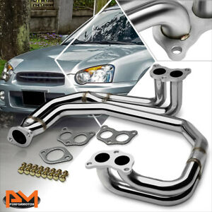 For 97 05 Subaru Impreza Rs 2 5l Non turbo Performance Stainless Exhaust Header