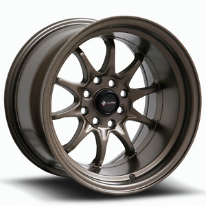 Vors Tr3 15x8 4x100 4x114 3 0 Bronze Wheels 4 73 1 15 Inch Rims