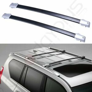 Aluminum For 2012 2013 Lexus Gx460 Black Carrier Cross Bars Roof Rack Top Us