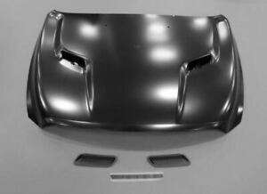 09 19 Ram 1500 Ds Sport Hood With Integrated Scoops E coated Factory Mopar New