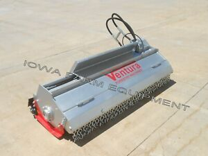 Ventura Ss200 skidsteer Flail Mower Mulcher Combo 2 Teeth Types 79 18 24gpm