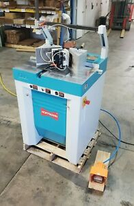Hoffmann Pu2 Pneumatic Dovetail Machine Router Industrial Woodworking Tool Clean