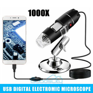1000x 8led Digital Microscope Usb Endoscope Camera Android Mac Os Window Linux