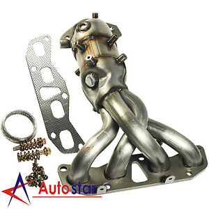 New Exhaust Manifold With Catalytic Converter For Nissan Altima 2002 2006 2 5l