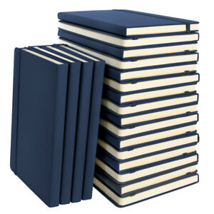 20pk Simply Genius A5 Leatherette Journal Writing Notebook Lined 5 7 X 8 4
