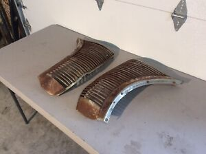 1938 Ford Standard Deluxe Grille Grill Original Ford Wall Art Salvage Patina