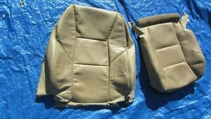 2001 2004 Volvo S60 V70 T 5 Oem Tan Driver Left Side Leather Seat Covers