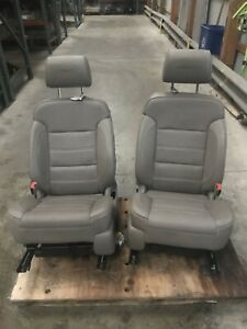 2015 Sierra Denali 1500 Leather Electric Front Bucket Seats And Rear Seats