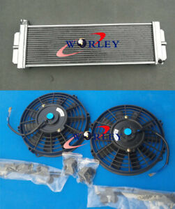 Aluminum Heat Exchanger Air To Water Intercooler fan Cobalt Mustang 24 x8 x2 5
