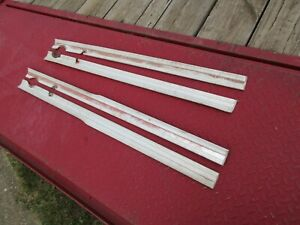 1962 Chevrolet Impala 4 Door Door Moldings Trim