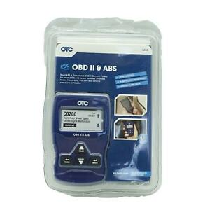 Nob Otc 3208 Obd Ii Abs Scan Tool With Enhanced Engine Transmission Codes