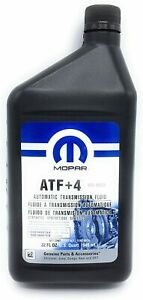 Genuine Oem Mopar 68218057ac Atf 4 Automatic Transmission Fluid 1 Quart New Usa