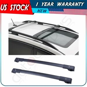 2pcs Roof Rack Crossbars For 2014 2019 Subaru Forester Crosstrek 2012 19 Impreza