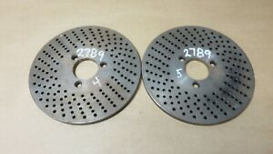 Dividing Head Rotary Table Indexing Plate 21 33 Hole 5 Diameter 1 1 8 Hole