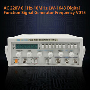 New Lw 1643 Digital Function Signal Generator Counter Frequency Meter