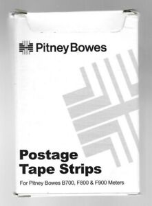 New Pitney Bowes 612 7 Postage Tape Strips 150 Dbl Sided 300 Total Nice