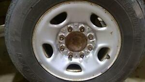 03 20 Chevy Express 2500 8 Lug Steel Wheel With Center Cap no Tire