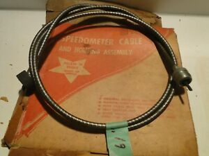 1930 1949 Desoto Ford Hudson Lincoln Terraplane Willys Nos 61 Inch Speedo Cable