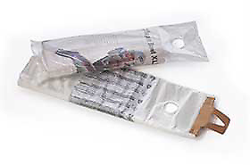 Clear Poly Newspaper Bags With Printed Suffocation Warning