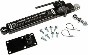 Husky 34715 Right Handed Adjustable Sway Control Kit New Free Shipping Usa
