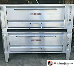 Used Blodgett 1060 Double Steel Deck Pizza Oven