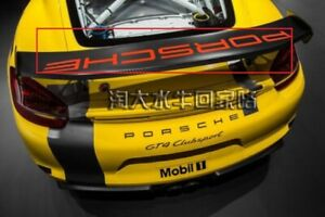 Rear Wing Decal Vinyl Sticker For Porsche Gt3 Rs 911 987 991 718 Boxster