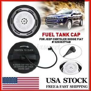 Fuel Tank Filler Gas Cap For Jeep Chrysler Dodge Fiat 52030377ab W Tether 99 19