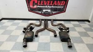 2011 2014 Ford Mustang Aftermarket 5 0 Coyote Flowmaster Complete Exhaust System