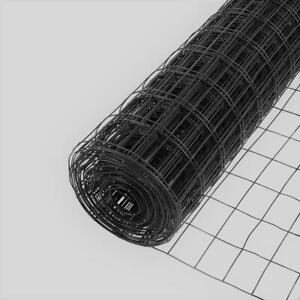 Everbilt Welded Wire Fence 4 Ft X 50 Ft Black 2 In X 3 In Mesh Pvc Coated