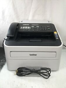 Brother Intellifax Fax2840 High speed Laser Fax Machine With Usb Cable Toner