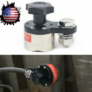 Magnetic Welding Ground Clamp Holder Welding Grounding Connector 300a 40kg New