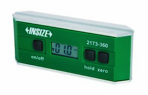 Insize Electronic Digital Level And Protractor 0 360 90x4 2173 360