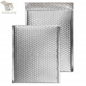25 000 Glamour Metallic Silver Poly Bubble Mailers Envelopes 4x8 Extra Wide
