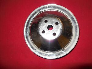 1965 1966 Corvette Chevelle 396 427 Deep Groove Water Pump Pulley 3864480 Gm