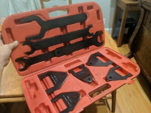 10 Piece Fan Clutch Remover Installer Vehicles Wrench Set Tool