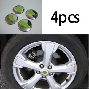 Fit For 2013 2019 Ford Escape Steel Chrome Wheel Hub Caps Sticker Center Cover