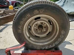 4 Used Googyear Eagle Gt P 255 60 R15 Outlined Whites Letter Tires